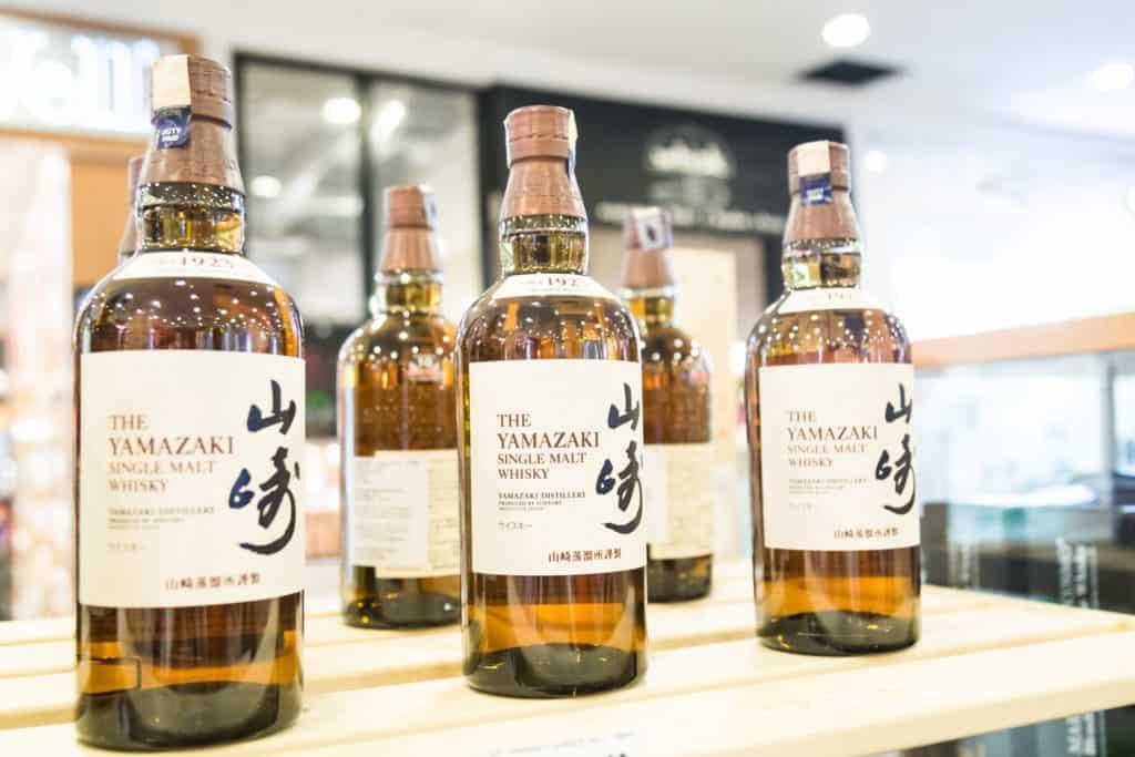 The Yamazaki Whisky is a Japanese award winning whisky owned by Suntory.