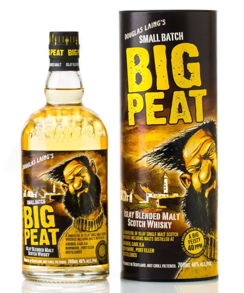 small batch big peat islay blended malt scotch whisky
