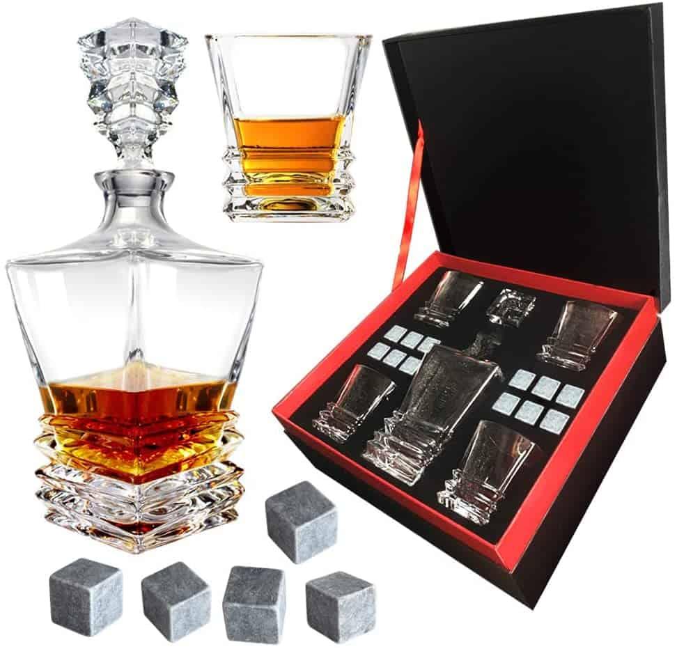 The Almagic Whiskey Decanter Set