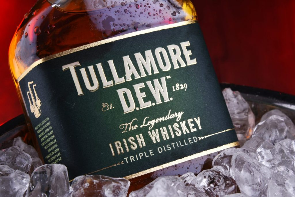 Tullamore DEW and Ice