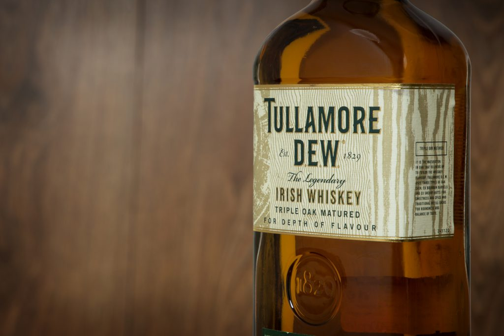 Tullamore Dew Bottle