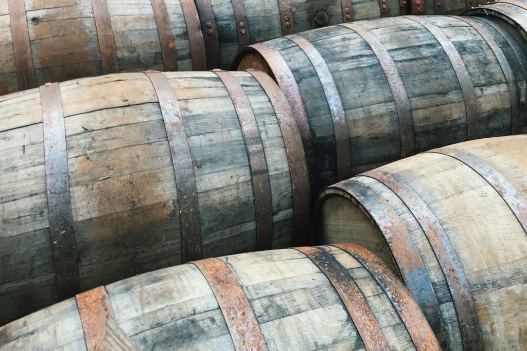Rye And Bourbon barrels