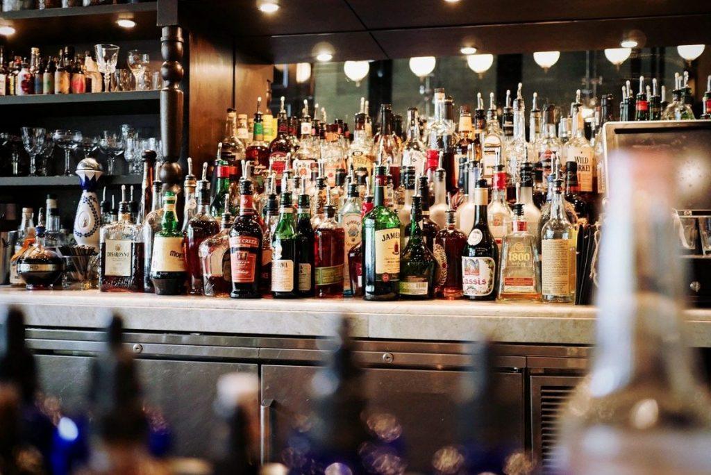 bar with alco